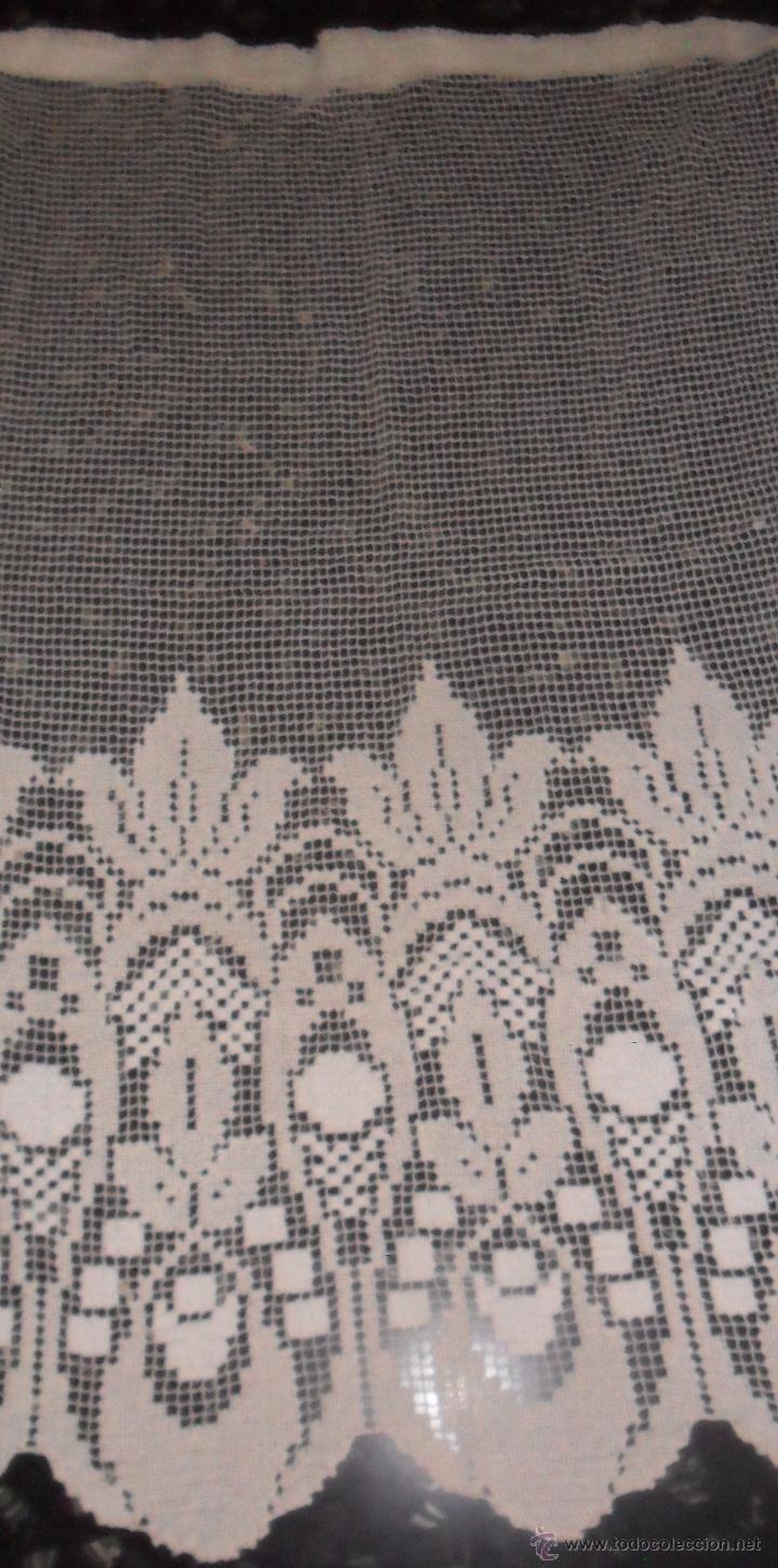 Antigüedades: Antigua cortina de malla - modernista - Foto 4 - 52162166
