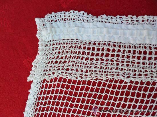 Antigüedades: Antigua cortina de malla - modernista - Foto 6 - 52162166