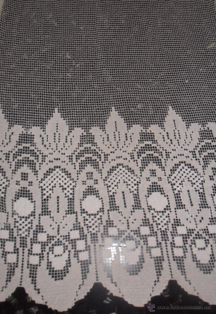 Antigüedades: Antigua cortina de malla - modernista - Foto 7 - 52162166