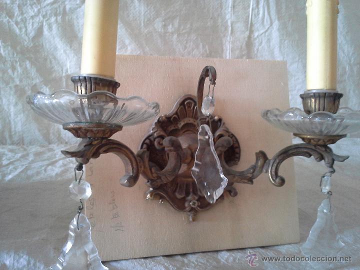 Antigüedades: Pareja de apliques - Foto 3 - 52166922