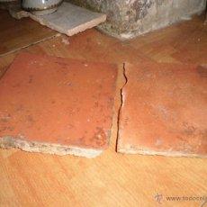 Antigüedades: ANTIGUAS BALDOSAS DEL SIGLO XVII DE ANTIGUO PALACETE IDEAL PARA CHALET O CASA RURAL. Lote 52283700