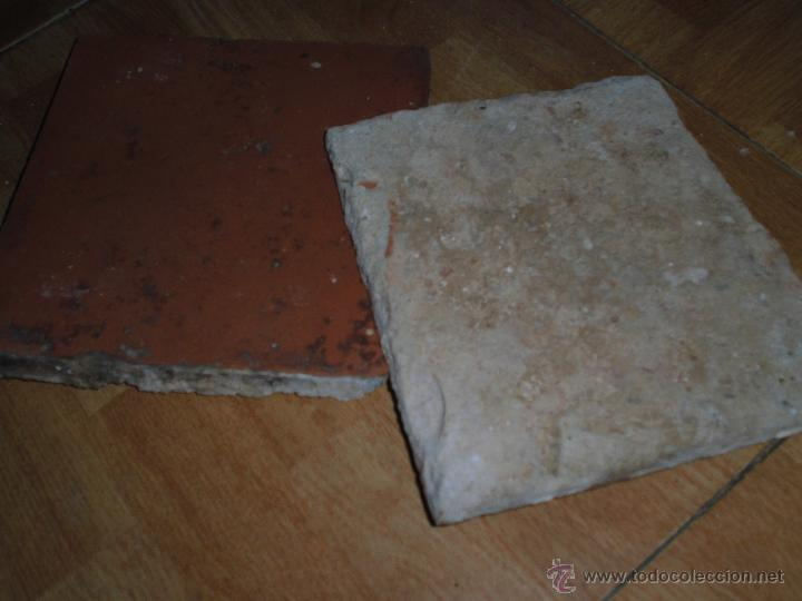 Antigüedades: antiguas baldosas del siglo XVII de antiguo palacete IDEAL PARA CHALET O CASA RURAL - Foto 2 - 52283700