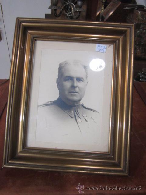 marco portafotos con fotografía de militar. med - Comprar Portafotos ...