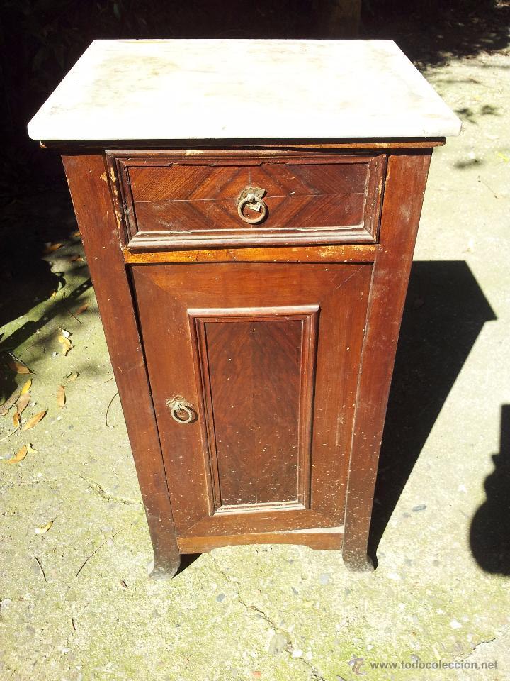 Mesita de noche epoca modernista para restaurar comprar - Comprar muebles para restaurar ...