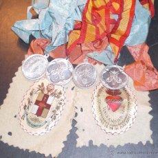 Antigüedades: LOTE DE MEDALLAS Y ESCAPULARIOS.. Lote 52312823