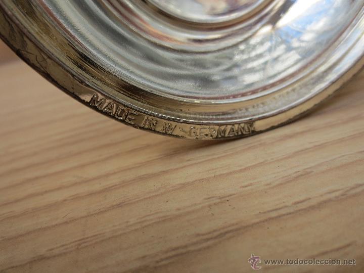 Antigüedades: CANDELABRO PLATEADO - MADE IN W . GERMANY - Foto 2 - 107228879