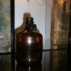 Antigüedades: GARRAFA DE VIDRIO MEDICINAL.. Lote 52364129
