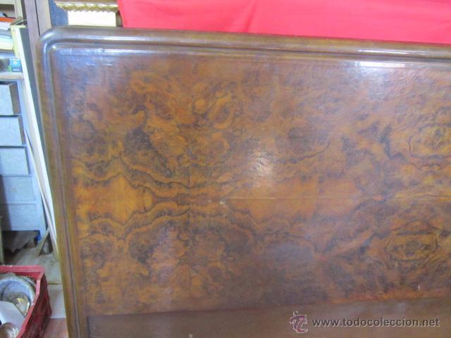 Antigüedades: Cabecero en madera de raiz para cama de matrimonio. - Foto 2 - 52364284