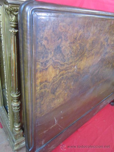 Antigüedades: Cabecero en madera de raiz para cama de matrimonio. - Foto 4 - 52364284