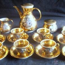 Antigüedades: JUEGO DE CAFE SANTA CLARA. Lote 52368775