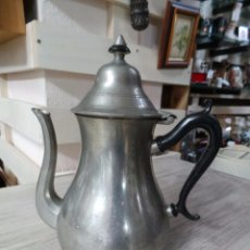 Antigüedades: TETERA EN METAL HOLANDESA MARCA SHR. Lote 52377310