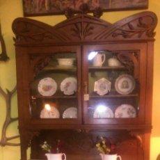 Antigüedades: CHINERO MODERNISTA CASTAÑO. Lote 42361351