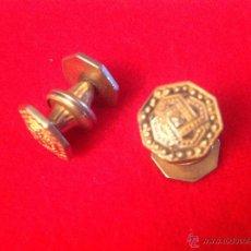 Antigüedades: PAR DE ANTIGUOS Y BONITOS GEMELOS, VER FOTOS.. Lote 52410107