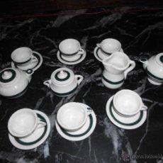 Antigüedades: JUEGO DE CAFE EN MINIATURA. Lote 52411325