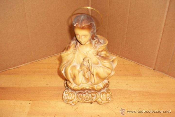 Antigüedades: BUSTO DE VIRGEN - Foto 2 - 52418773