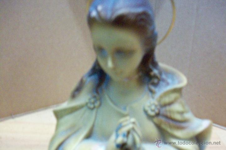 Antigüedades: BUSTO DE VIRGEN - Foto 3 - 52418773