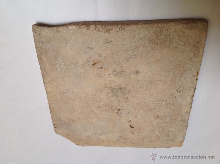 Antigüedades: Azulejo en cerámica valenciana s XVIII - Foto 2 - 52449661