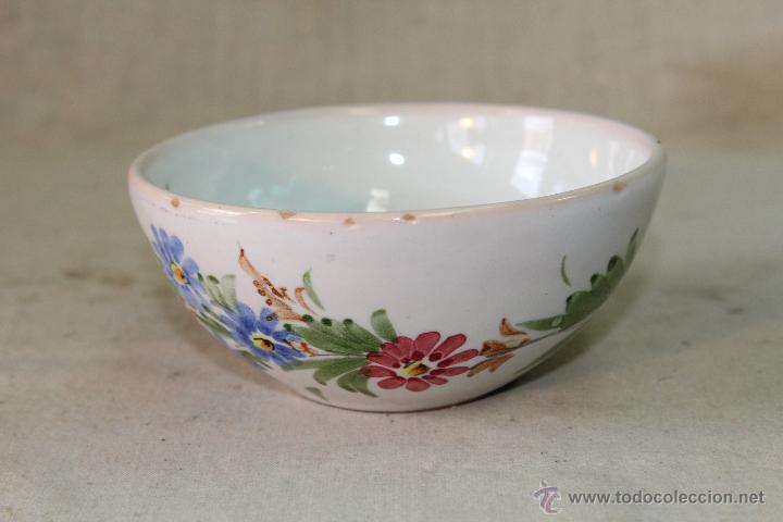 TAZON EN CERAMICA LARIO (Antigüedades - Porcelanas y Cerámicas - Lario)