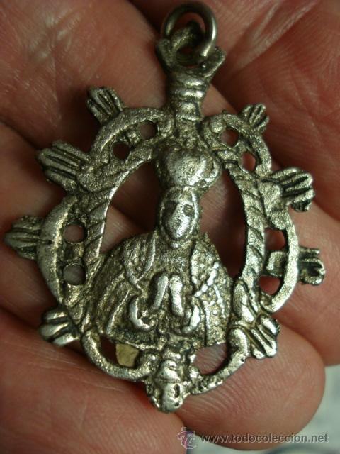 Virgen del sagrario toledo medalla religiosa pl comprar - Antiguedades en toledo ...