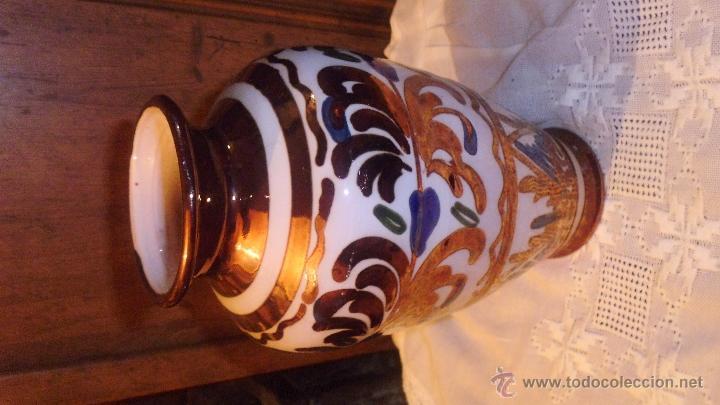 Antigüedades: JARRON DE MANISES . - Foto 2 - 52470431