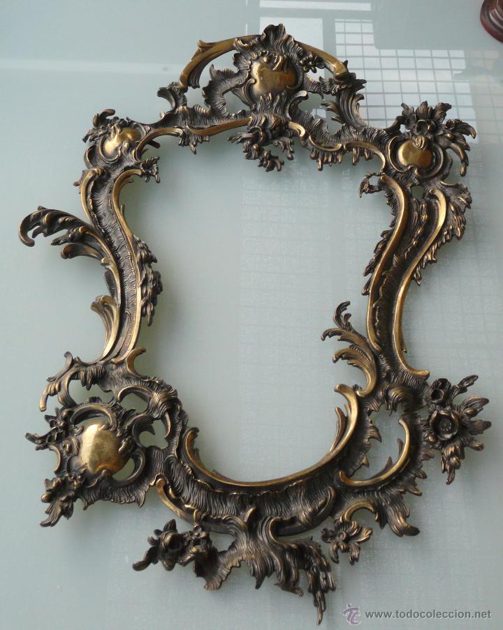 impresionante marco de bronce estilo rococo - Comprar Marcos ...
