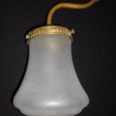 Antigüedades: ANTIGUO APLIQUE / LAMPARA MODERNISTA. Lote 52488135