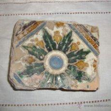Antigüedades: AZULEJO TRIANA SIGLO XVI. Lote 52520540