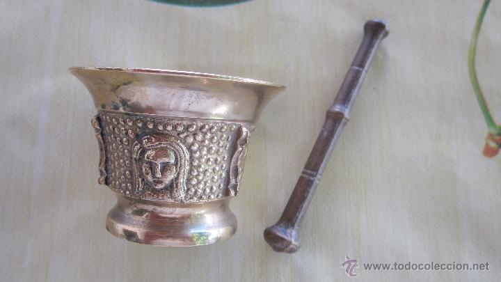 Antigüedades: lote 4 morteros - Foto 10 - 52548046
