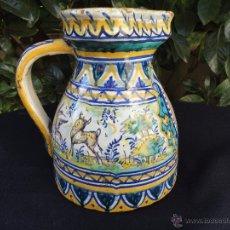 Antigüedades: CERÁMICA ANDALUZA: JARRA DE TRIANA SIGLO XIX. Lote 52550368