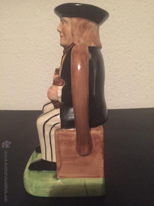 Antigüedades: JARRA DE CERAMICA - CHIVAS REGAL - TONY WOOD STAFFORDSHIRE - PINTADA A MANO - Foto 2 - 52556970