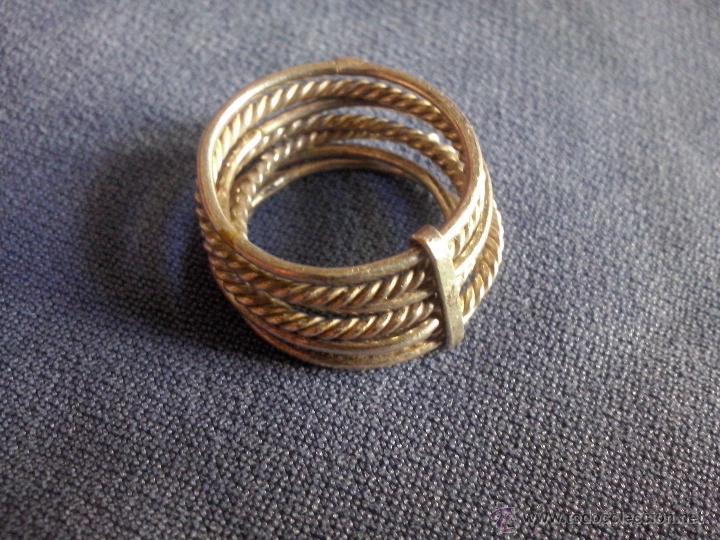 en venta 443e4 3a4af anillo semanario de plata