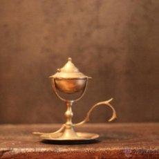 Antigüedades: CANDIL CAPUCHINA LAMPARA DE ACEITE. Lote 52585767