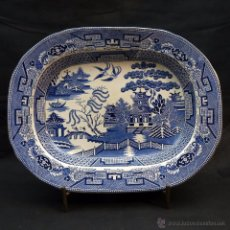 Antigüedades: BANDEJA INGLESA BEECH HANCOCK & CO. - BURSLEM. Lote 52589626