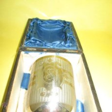 Antigüedades: AºVASO-PLATA 800-REGALO DE CRISTIANAR/BAUTIZAR-VER LETRAS TRABAJADAS-80 MM.ALTO-CIRCA 1920. Lote 52601960