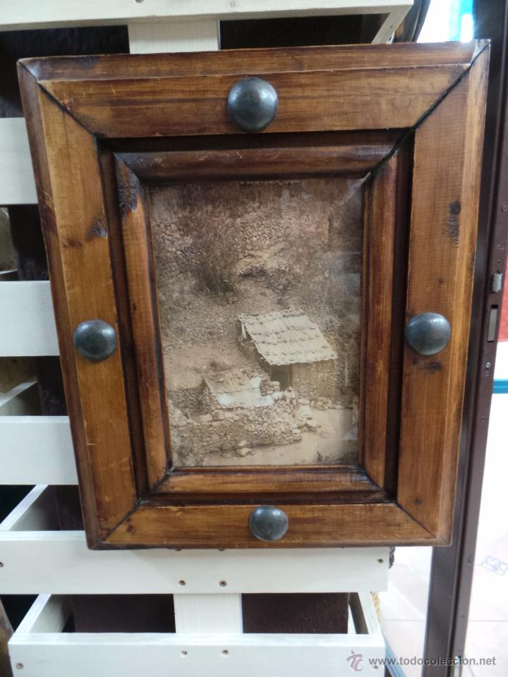 Rustico cuadro con marco en madera maciza comprar marcos - Cuadros para dormitorios rusticos ...