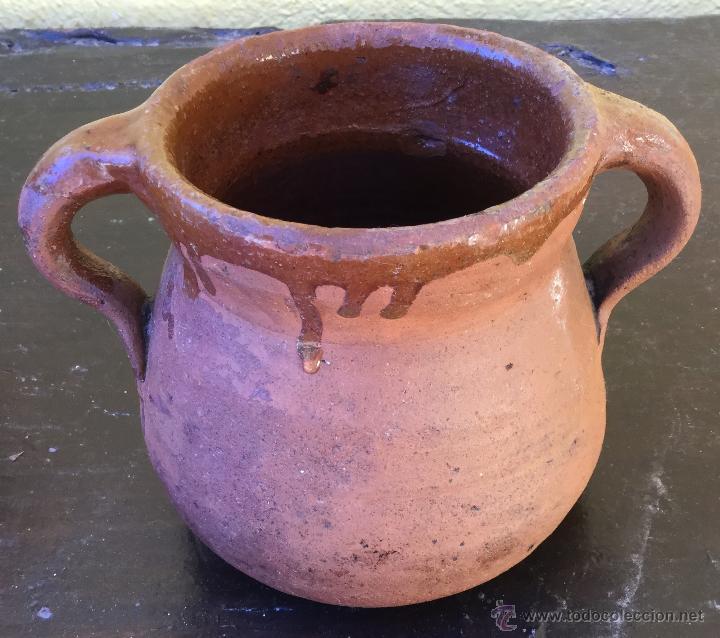 VASIJA BARRO (Antigüedades - Porcelanas y Cerámicas - Otras)