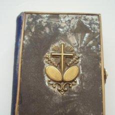 Antigüedades: LIBRO. PEQUENO OFICIO DIVINO. LAPLACE EDITORES,PARIS. ILUSTRADO CON GRABADOS. CASTELLANO.443 PÁGINAS. Lote 52610131
