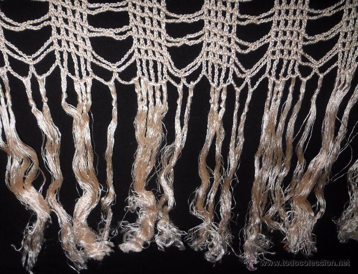 Antigüedades: Mantel de seda - años 20 - Foto 5 - 52623063