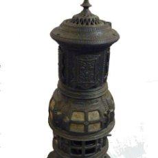 Antigüedades: MAGNIFICA ESTUFA DE HIERRO FUNDIDO BY FAR THE BEST. Lote 52624546