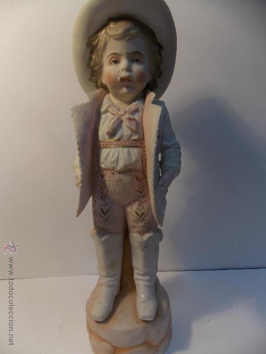 PORCELANA BISCUIT (Antigüedades - Porcelana y Cerámica - Francesa - Limoges)