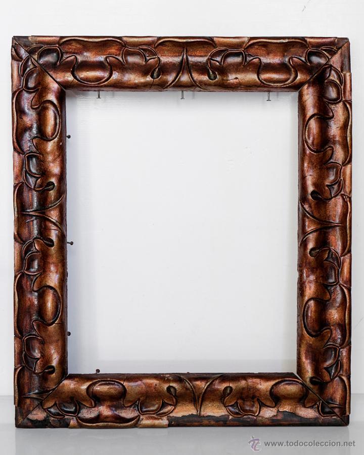 Antiguo marco de madera 32 x 27 5 cm comprar marcos antiguos de cuadros en todocoleccion - Marcos clasicos para cuadros ...