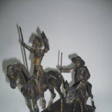 Antigüedades: CENICERO DE DON QUIJOTE DE LA MANCHA Y SANCHO PANZA. Lote 52643046