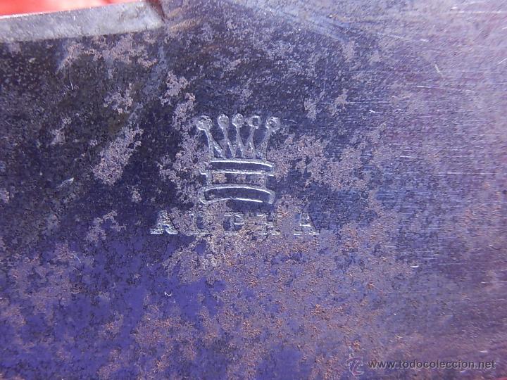 Antigüedades: Extraordinaria caja antigua de cubiertos trinchantes. Posiblemente de fabricación inglesa. - Foto 17 - 52669435