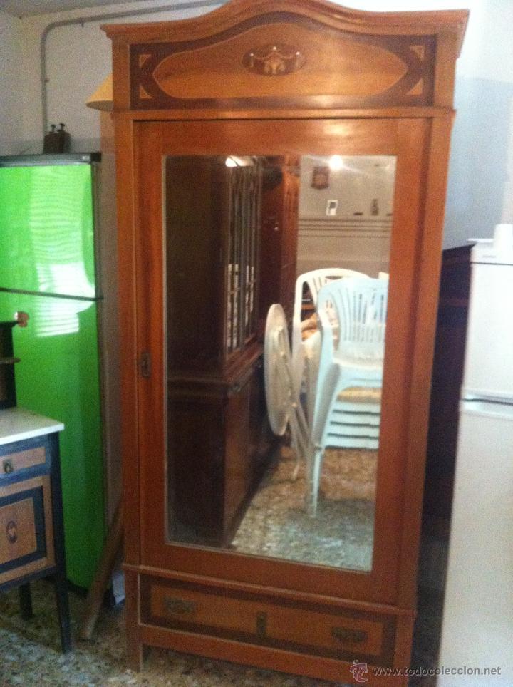 Ropero 1 puerta comprar armarios antiguos en - Armario de una puerta ...