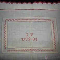 Antigüedades: ANTIGUO BORDADO - PIEZA DE COLECCIÓN. Lote 52673184