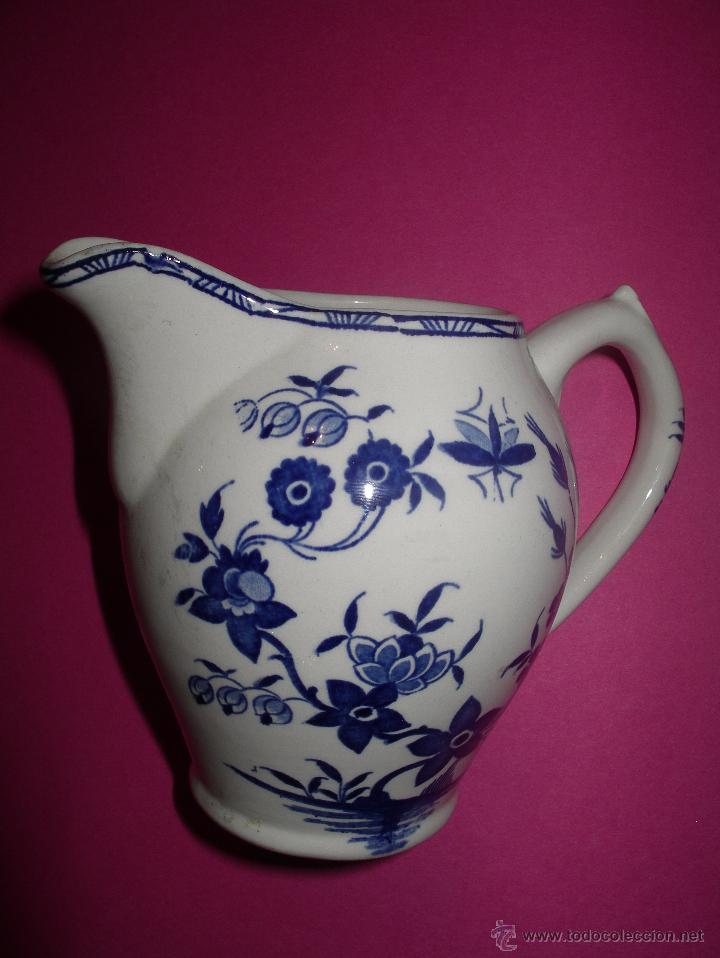 Jarra leche porcelana blue delft 39 boch freres 39 comprar for Jarra leche
