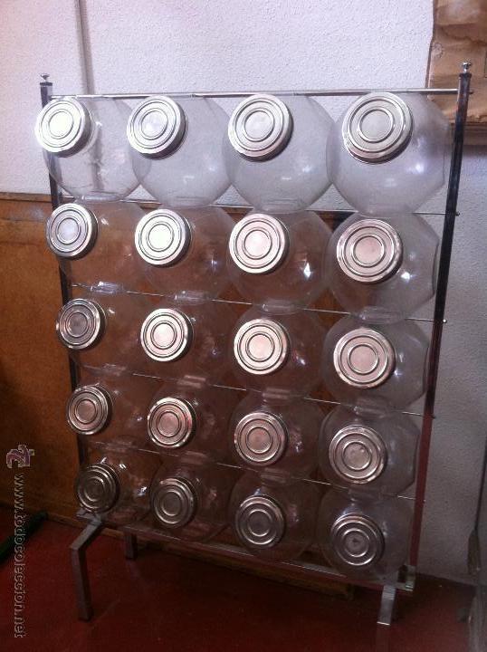 Gran caramelera 20 tarros cristal con tapa orig comprar - Tarros de cristal con tapa ...