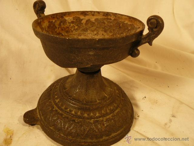 COPA DE HIERRO (Antigüedades - Hogar y Decoración - Copas Antiguas)