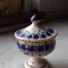 Antigüedades: SALERO CERAMICA MANISES O RIBESALBES. SIGLO XIX. Lote 52746779