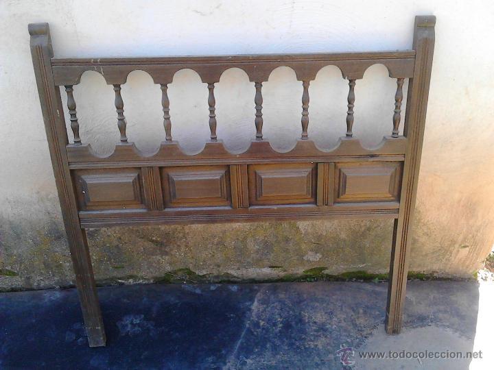 Cabecero cama madera de 90 comprar camas antiguas en - Cabeceros de cama antiguos ...